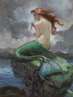 Lisa Keene: The Little Mermaid by carter flynn