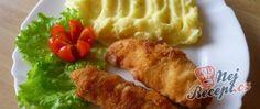 Recept Kuřecí prsa obalená slaninou Chicken Alfredo, Meat, Beef, Alfredo Chicken