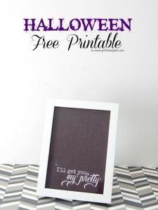 I'll Get You, My Pretty Halloween Printable and Giveaway! - Girl Loves Glam
