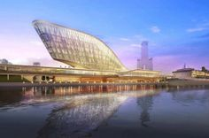 Kaohsiung Port and Cruise Terminal Design by HMC Architects