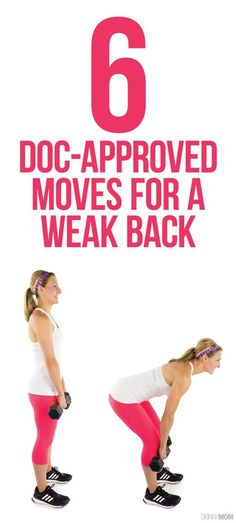 6 moves that are easy on your back.