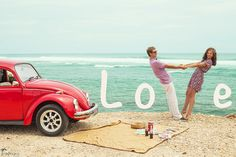 I need that car too. Lol Creative Couple Photoshoot Ideas Creative photoshoot ideas
