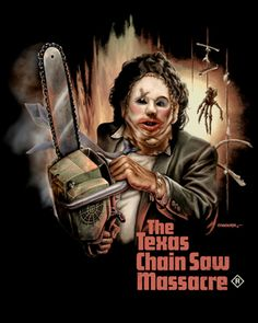 Pre-order your Leatherface Limited Edition shirt from Fright Rags! Leatherface V3 [01219] - $27 : Horror T-Shirts : FRIGHT-RAGS, Horror Shirts