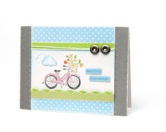 Ohhh I have this CTMH stamp set. Cute card