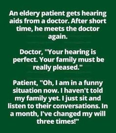 Hearing aids – Bits and Pieces Funny Signs, Funny Jokes, Hilarious, Letterboard Signs, It's Funny, Happy Sunday Quotes, Clean Jokes, Joke Of The Day, Hearing Aids