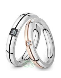 Cincin Kawin Wafa model cincin kawin simple namun tetap elegan.. cek koleksi lainnya di http://zlatasilver.com