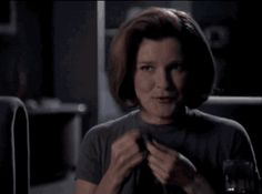 Janeway and Chakotay - if someone says that that's not flirting... they're blind