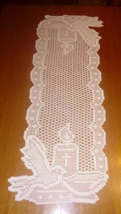 Christmas crochet doily - Square doilies - Home decor - White crochet doilies - Mother's Day - Hand Crochet Table Runner, Crochet Tablecloth, Crochet Doilies, Crochet Lace, Thread Crochet, Crochet Stitches, Doily Patterns, Crochet Patterns, Yarn Crafts