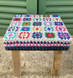 Your place to buy and sell all things handmade Table Cafe, Acrylic Wool, Handmade Wooden, Rustic Furniture, Crochet, Recycling, Bathroom Inspo, Blanket, Hula