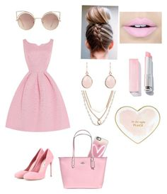 """Valentines Day date night💗"" by eliana230 on Polyvore featuring Casetify, Miu Miu, Coach, Fiebiger, Vera Bradley, MANGO and Kate Spade"
