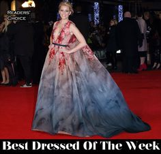 Best Dressed Of The Week – Elizabeth Banks In Elie Saab Couture, Mary, Crown Princess of Denmark In Jesper Høvring