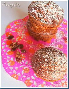 Carrot muffins - love the colours!