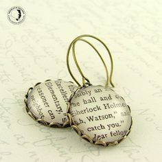 sherlock earrings.