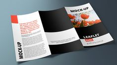 Mock-up – Ulotka / Leaflet – 3 x DL