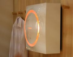 Tiny Washing Machine Can be Hung on a Wall!