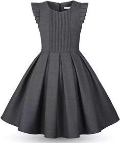 Super baby dress simple little girls Ideas Dresses Kids Girl, Little Dresses, Cute Dresses, Dress Outfits, Kids Outfits, Dress Anak, School Dresses, Frock Design, African Fashion Dresses