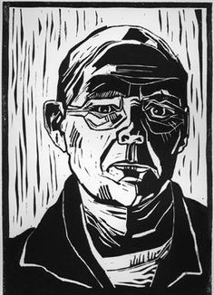 Colin Moore - Gallery Artists - Contemporary art gallery - Byard Art Cambridge –… Source by b. Linocut Prints, Art Prints, Block Prints, Lino Art, Linoprint, Portrait Illustration, Woodblock Print, Portrait Art, Portraits
