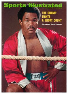 See this issue in its original layout using the June 1973 Issue Viewer George Foreman, Sports Magazine Covers, Boxing Images, Si Cover, Sports Illustrated Covers, Boxing History, Million Men, Sport Boxing, Star Wars