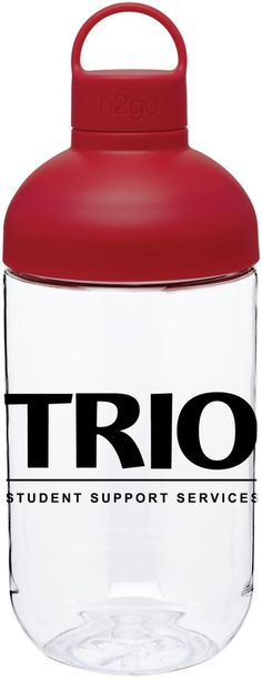 H2GO Capsule 34oz Waterbottle – DePaul University, #TRIO Student Support Services