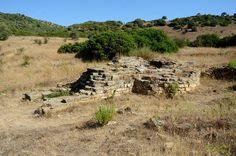 Sardinia, Italy. Funtana Coberta Sacred well: external structure - Ballao Sardinia Italy, Vineyard, Places, Water, Outdoor, Rook, Islands, Gripe Water, Outdoors