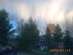 Beautiful Morning Sky Over Arden