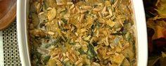 Daphne's all-time favorite Thanksgiving dish - green bean casserole