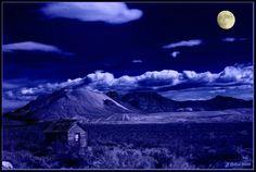 Night in Death Valley Blue