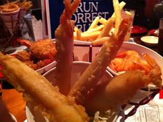 I ate this at Bubba Gump Shrimp Co. at the Mall of America.