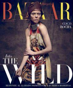 Coco Rocha - Harper's Bazaar Magazine Cover [Mexico] (June 2014)