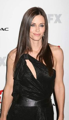 Courtney Cox is a Clear Winter
