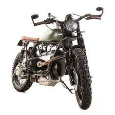 Mud mud mud! BMW R100 Scrambler by Kevil's Speed Shop #motorcycles #scrambler #motos | caferacerpasion.com