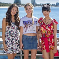Mako Mermaids - Season 3 Promo, Linda Ngo in red Mermaid Poster, Fin Fun Mermaid, H2o Mermaids, Mermaids And Mermen, Mermaid Outfit, Mermaid Hair, Mako Mermaids Season 3, Mako Island Of Secrets, Mermaid Spells