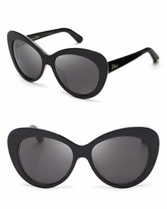 Dior Promesse Oversized Cat Eye Sunglasses #sunnies