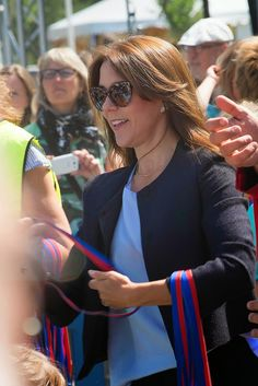 Princess Mary has attended a race of children in Copenhagen to fight against bullying in schools and in the private sphere. This special initiative has been implemented by the Princess Mary and the Save the Children Foundation.