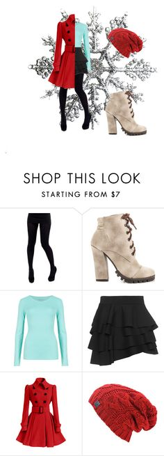 """""""Winter Figure"""" by sasisfashion on Polyvore featuring Michael Antonio, M&S Collection, DKNY, women's clothing, women's fashion, women, female, woman, misses and juniors"""