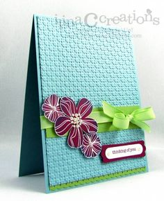 Thinking of you by ilinacrouse - Cards and Paper Crafts at Splitcoaststampers