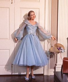 "Grace Kelly in ""High Society"" 1956. costumes by Helen Rose."