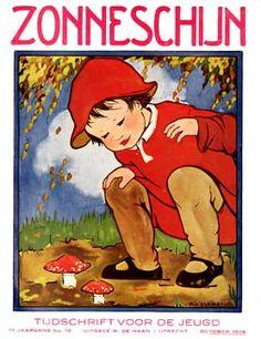 Zonneschijn, 1926, cover Rie Cramer