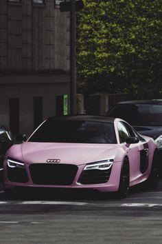 Matte Pink Audi R8