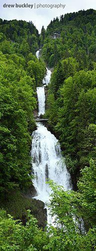 Giessbach Fall, Bernese Oberland, Switzerland