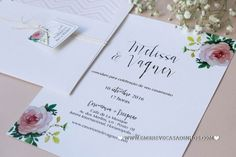 Convites de casamento: 45 modelos lindos para todos os estilos! Image: 4