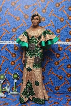 Hello, There are some ankara gowns that you would like just when you see them. These ankara styles are so lovely and good. Checkout these outstanding ankara gown styles below and enjoy your day. Latest African Fashion Dresses, African Print Dresses, African Print Fashion, Africa Fashion, African Dress, African Prints, Latest Fashion, African Attire, African Wear