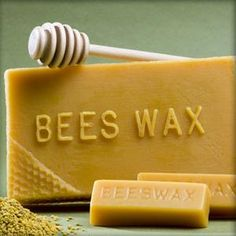 How to make Beeswax soap... And it's benefits...great moisturizer ,