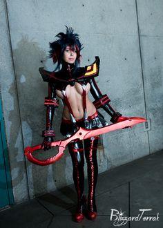 AX17 - Ryuko Matoi by BlizzardTerrak.deviantart.com on @DeviantArt - More at https://pinterest.com/supergirlsart #khainsaw #hot #sexy #cosplay #girl #cosplaygirl #kill #la #kill #klk #killlakill