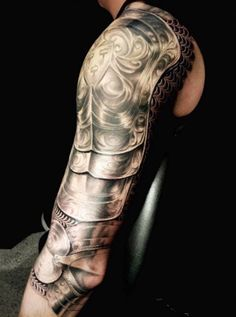 Picture of my 3/4 armour sleeve I just recently finished - Imgur