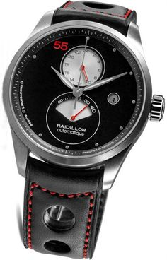 Raidillon Swiss Ebony Ltd. Edition GMT Power Reseve***