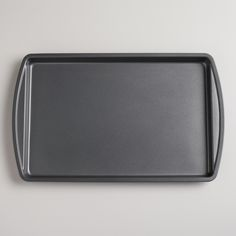Metal Nonstick Cookie Sheet | World Market: No Idea how I always seem to lose these, but I only have one cookie sheet that is in decent shape, and it's this kind, and it's kind of awesome, I'd love a few more.