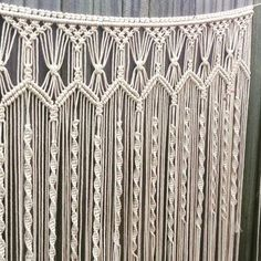 Handmade macrame wall hanging; 1m wide x 120cm long boho wall art wedding backdrop