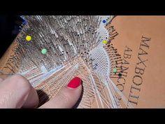 Abanico 28A Maxbolillos,Araña Especial - YouTube Youtube, Scrapbook, Videos, Album, Bobbin Lace Patterns, Crochet Squares, Hand Fans, Tutorials, Cards