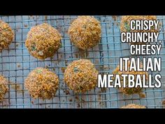 Crispy, Crunchy Italian Meatballs / Albóndigas Italianas Crujientes - YouTube